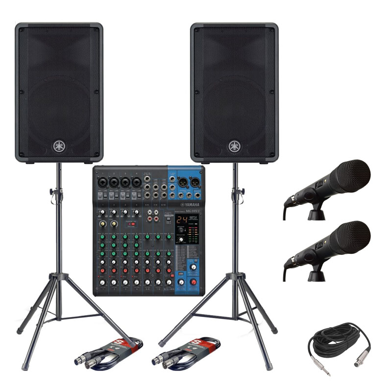 Sound rental package 4